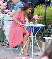 Priyanka Chopra in a Deep neck Red Gown on the Set of Isnt It Romantic ~  Exclusive Celebrities Galleries 014.jpg
