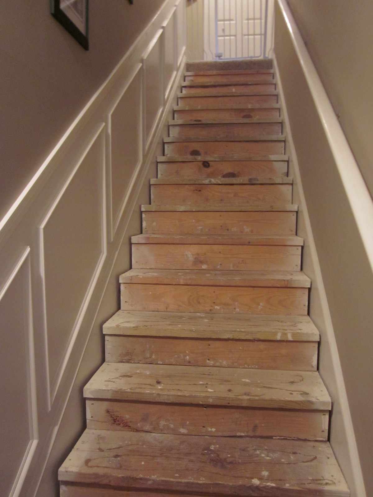 Lipstick And A Brad Nailer Are The Only Essentials   Home Depot Hardwood Stair Treads