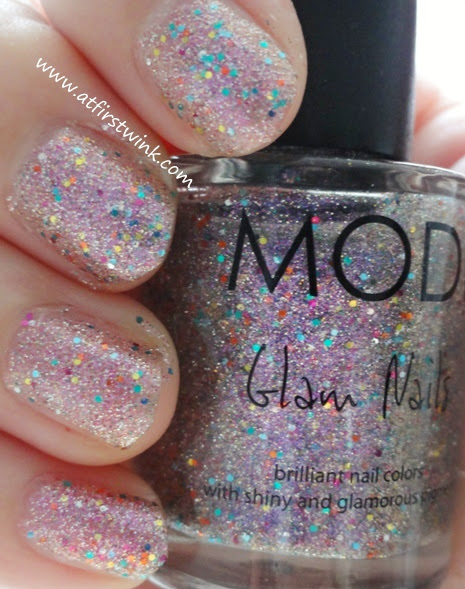 Modi Glam Nails number 34 - Lavender Sugar