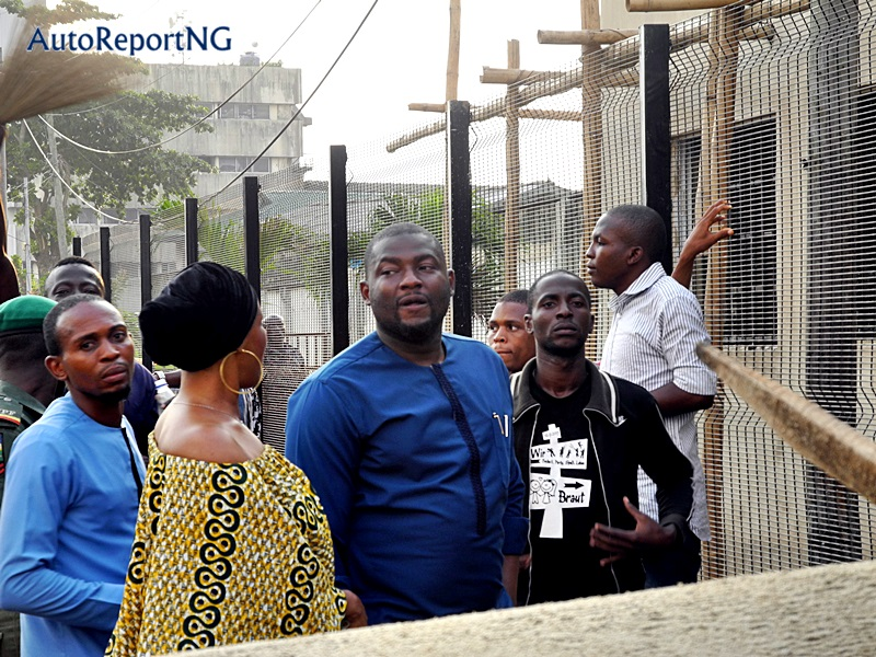 Ikoyi-Obalende LCDA's Chairman, Mr Atanda Inspects Ongoing Projects At Obalende Road