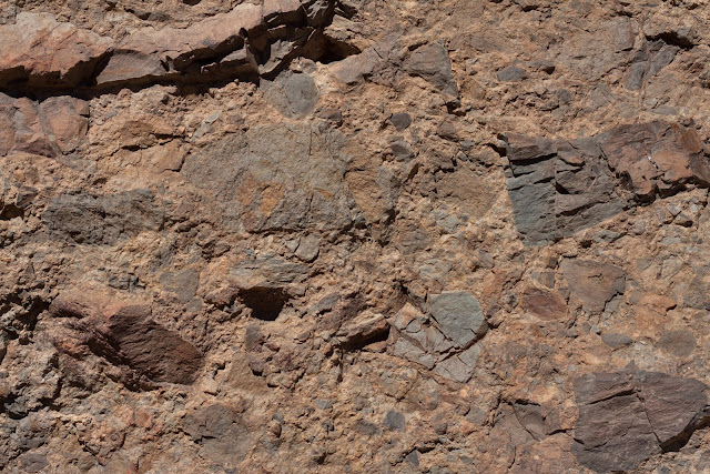Orange brown rock texture