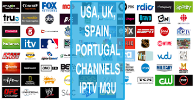 USA IPTV Sky UK Spain PT ALB Exyu Mix Links