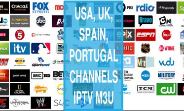 Sky sports UK USA Spain PT RTP IPTV List Kodi