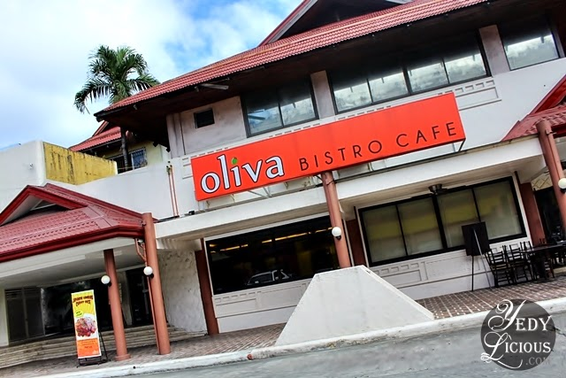 Oliva Bistro Cafe along Marcos Highway Pasig City