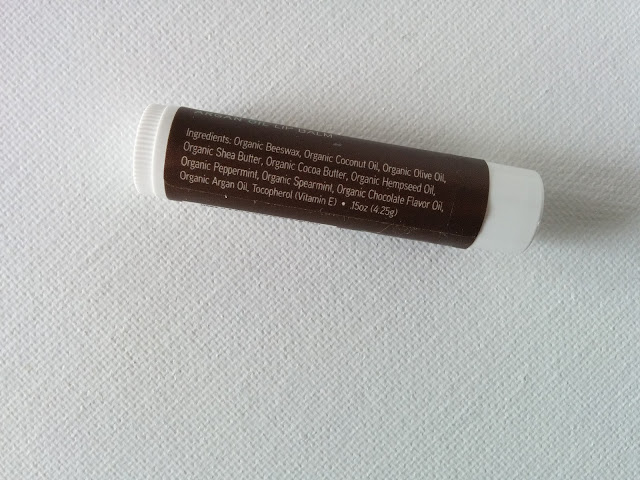 Acure Dark Chocolate Mint Argan Oil Lip Balm