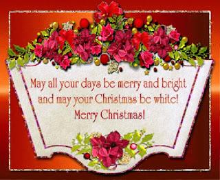 Kartu Ucapan Natal Merry Christmas 80019