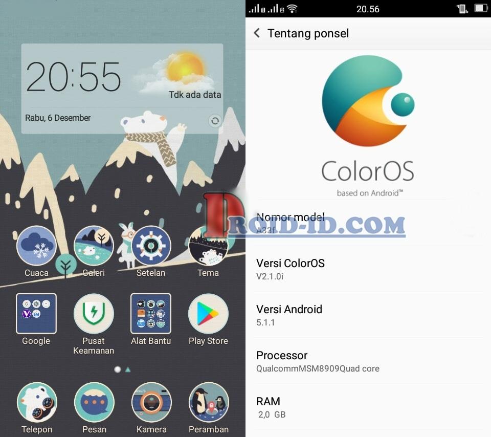 Custom Rom Oppo Neo 7 Andromax E2 Plus Lollipop Maxtron New7a Smartphone