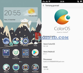 Custom Rom Oppo Neo 7 Andromax E2+ (Plus) Lollipop