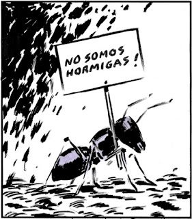 Modelo de estado de las hormigas.