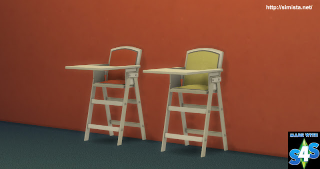 Highlander High Chair Simista A Little Sims 4 Blog