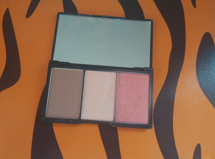paleta face form de Sleek