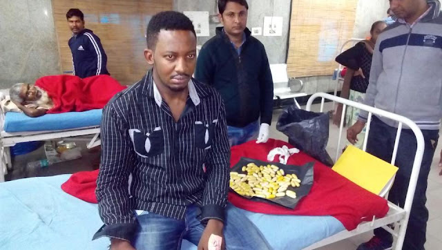 Photo: 26-year-old Nigerian national arrested in India for smuggling 260-gram heroin six months after release from jail