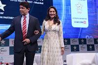 Madhuri Dixit Nene in designer Anarkali Dress at FICCI Awards 2017 011.JPG