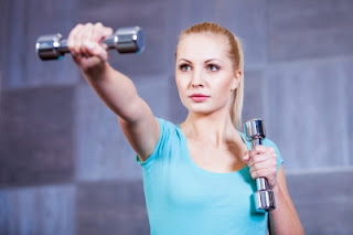 woman working out healthy