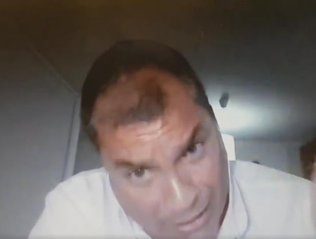 Rafael Correa via skype