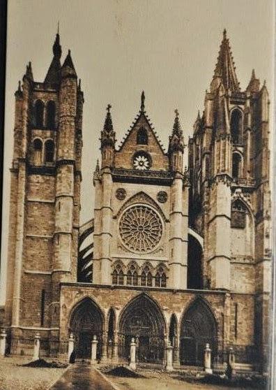 Catedral Gótica de la ciudad de León | Fotos Antiguas | Historia Leonesa | Vidrieras