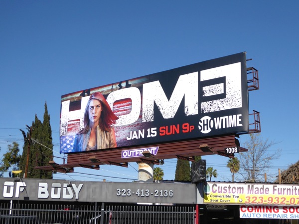Homeland season 6 Showtime billboard