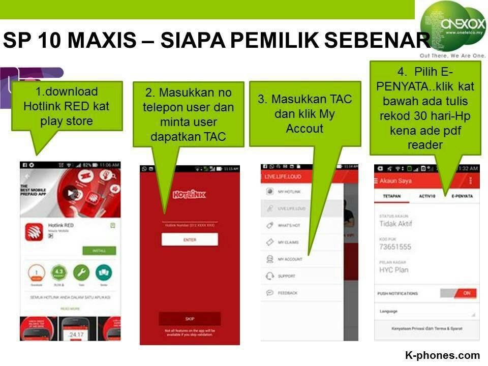 Cek Pemilik Nombor Telefon Guna Hotlink Red App 2020 Adzril