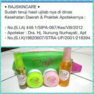 Nomor Laboratorium Raj Skincare