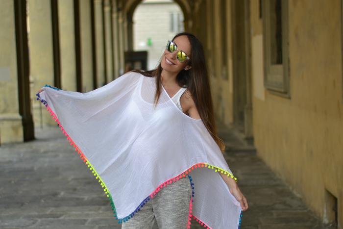 maxi maglia etnica