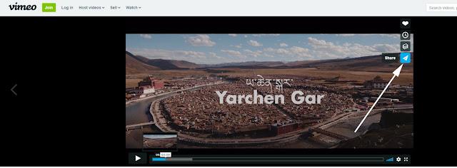 vimeo video paylaş