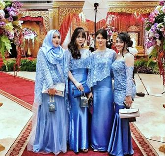 Foto Kebaya Brokat Modifikasi Untuk Pesta Pernikahan
