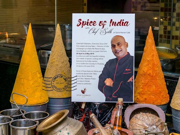 Special Appearance of Chef Seth Shantanu's Indian Cuisine at Spice Market Cafe 6-in-1 International Buffet @ Shangri-La's Rasa Sayang Resort & Spa, Penang