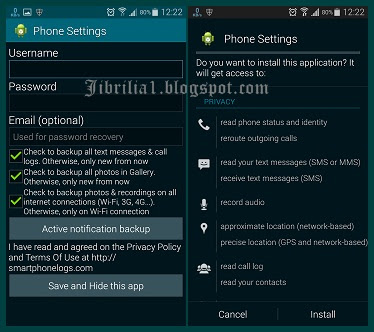 SMARTPHONE LOGS APK FOR ANDROID