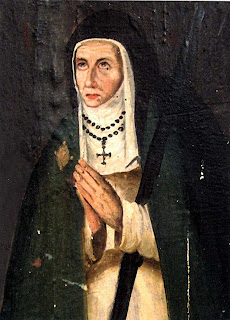 Quadro de época da Madre Mariana de Jesus