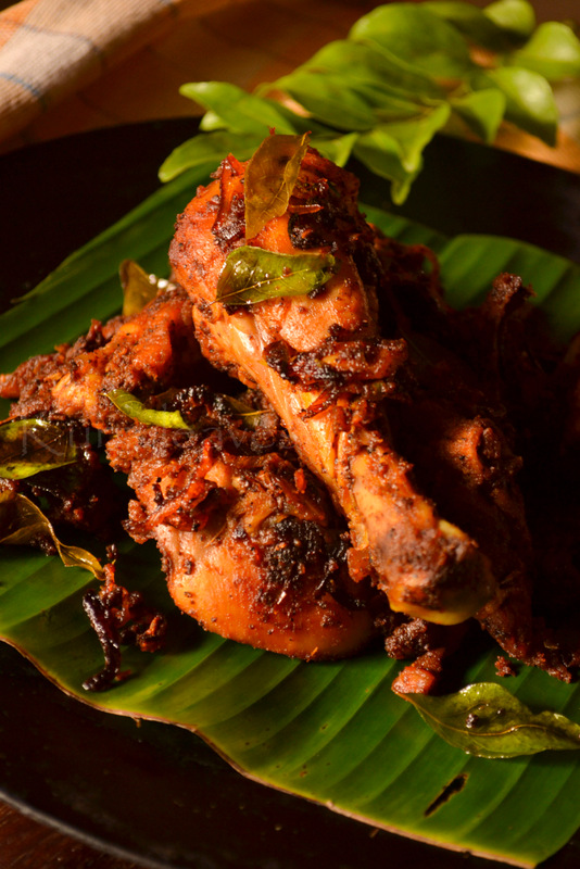 Kerala non veg recipes kurryleaves spicy kerala chicken fry forumfinder Gallery