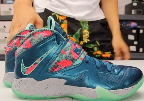 premium selection 20ee3 2c0d9 Nike Lebron Zoom Soldier VII