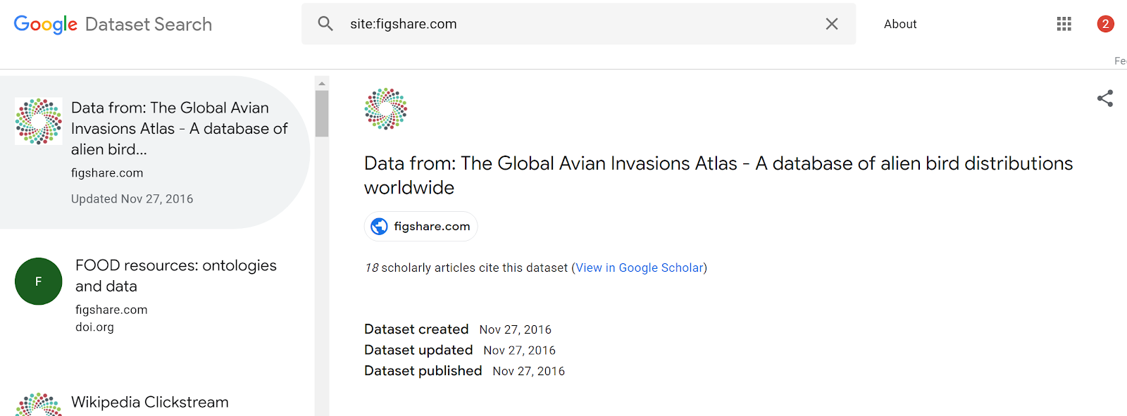 Google dataset search - a reflection on the implications | Musings