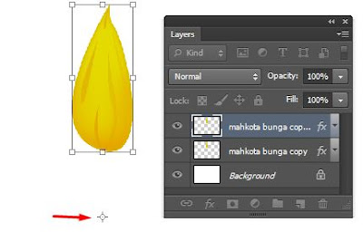 Melihat banyaknya vector bunga yang bertebaran di internet Cara Membuat Bunga Matahari Dengan Photoshop