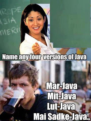 funny jokes on java