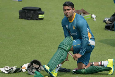 Umar Akmal Recalled By Pakistan Board