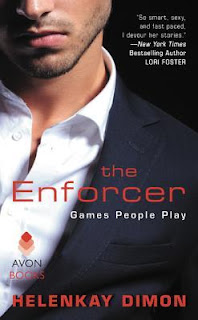 romance novel covers, romantic suspense, The Enforcer by HelenKay Dimon