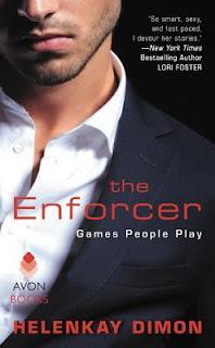 romance novel covers, romantic suspense, The Enforcer by HelenKay Dimon