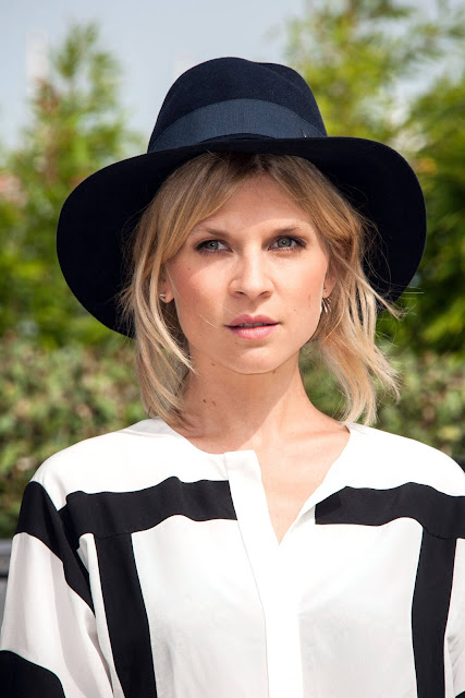 clemence-poesy-hat
