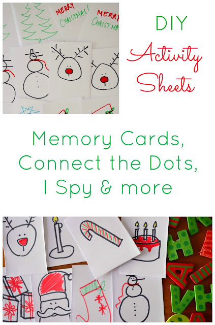 The Practical Mom: DIY Activity Sheets