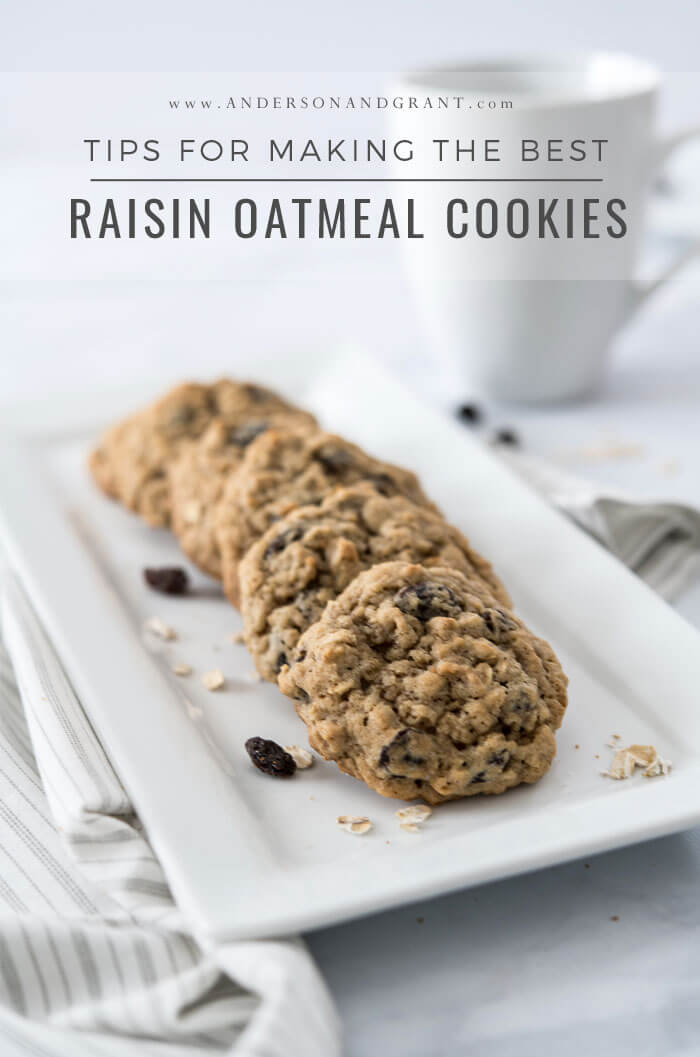 raisin oatmeal cookie recipe
