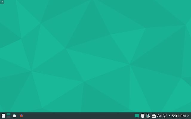 Manjaro KDE Plasma Desktop