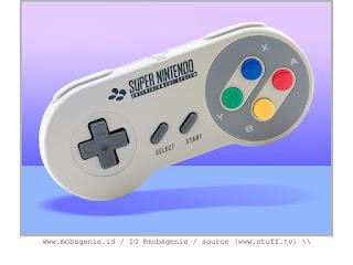 SUPER NINTENDO CONTROLLER (1991)