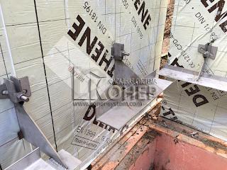 Куубер, вентилируемый фасад из кирпича, Конер, фасадная система Конер