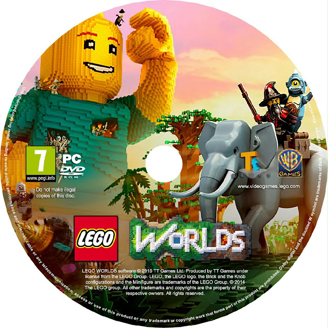 Label LEGO Worlds PC