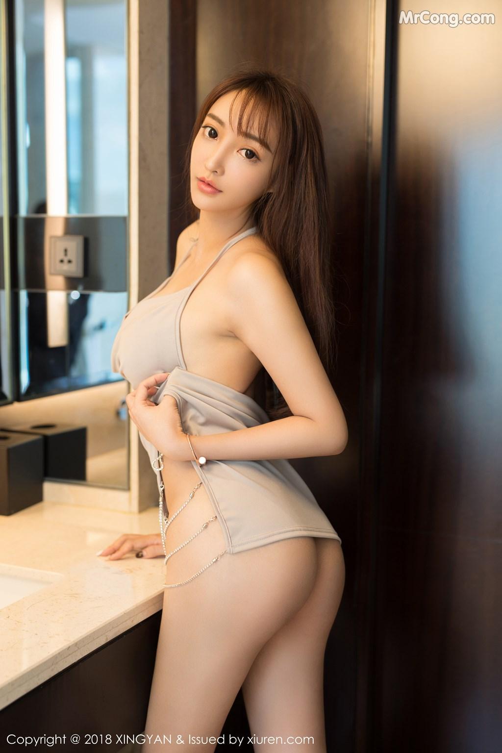 Image XingYan-Vol.090-Angel-MrCong.com-002 in post XingYan Vol.090: Người mẫu 安安Angel (41 ảnh)