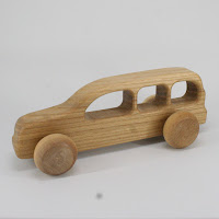 LFC34, Tourist Car, Lotes Toys Wooden Car
