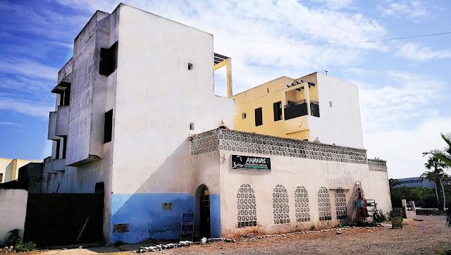 Siedziba Ananas Kitesurfing. Essaouira, Maroko