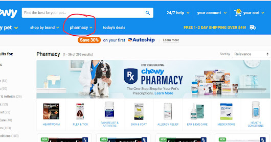 Chewy Now Has an Online Pet Pharmacy