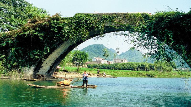 Yangshuo Tour The Town