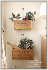 French Farmhouse- Christmas- Kitchen- French Country-From My Front Porch To Yours